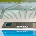 AQUATICS CENTRE SEATING London 2012