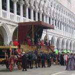 "filming ""CASANOVA"" Venice"