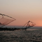 Chinese fishing nets, Cochin
